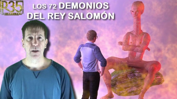 LOS 72 DEMONIOS DEL REY SALOMÓN