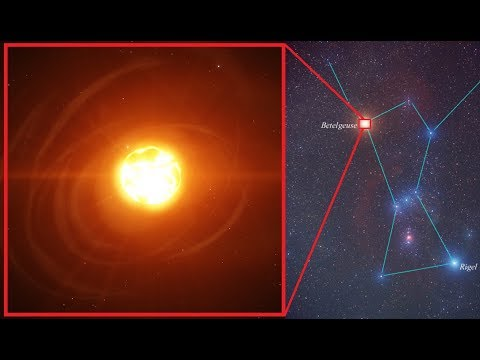 ¿Qué le está pasando a la estrella Betelgeuse?