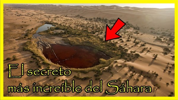 En lo Más Profundo del Sáhara Se Esconde un Gran Secreto