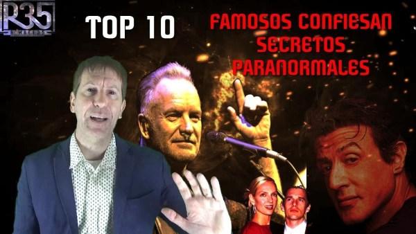 TOP 10: FAMOSOS Confiesan Secretos Paranormales