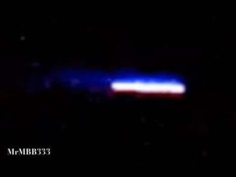 Enormes naves espaciales captadas por el telescopio de un hombre