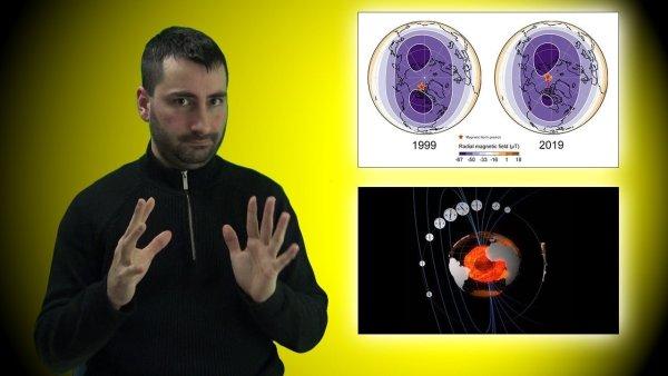 Dos Misteriosas Masas Subterráneas Mueven el Polo Norte Magnético Hacia Siberia