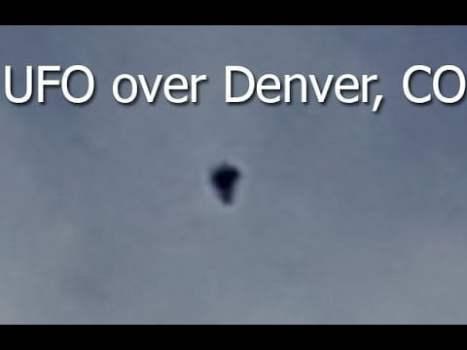 OVNI filmado en Denver, Colorado, 16 de mayo de 2020