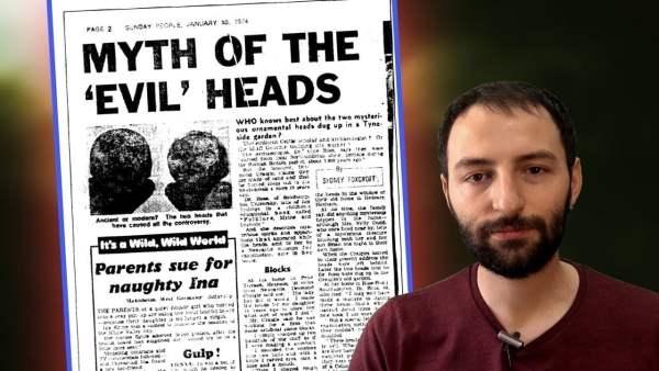 Las cabezas de Hexham y la leyenda del Rostro del Diablo