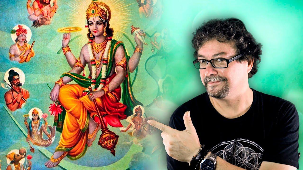🌀 Los Símbolos Mágicos de Vishnu y su Poder