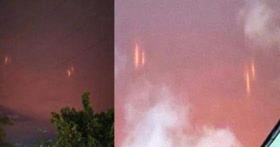 Qué son estas extrañas luces rojas en el cielo nocturno sobre México (11 de julio de 2020)