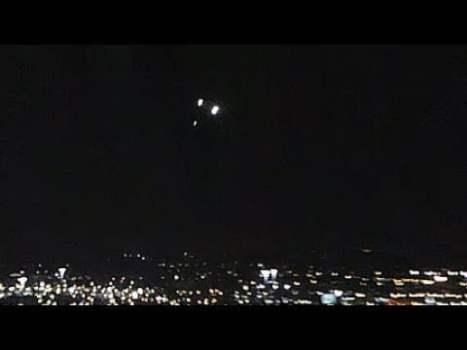 Impresionante vídeo de ovnis sobre Las Vegas, NV 6-ago-2020