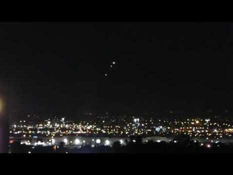 Ovnis brillantes sobre Las Vegas, Nevada, 6 de agosto de 2020