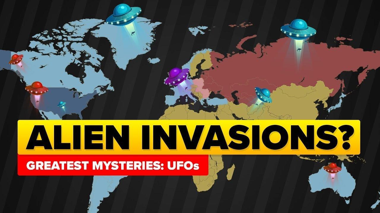 ¿Fueron estos momentos históricos en realidad invasiones alienígenas secretas?
