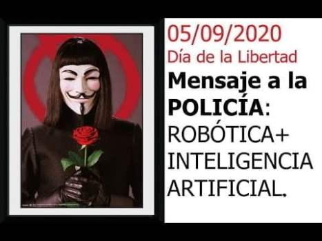 MENSAJE A LA POLICIA HISPANO-AMERICANA 05 Sept 2020