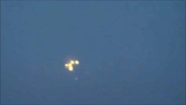 OVNI lanzó orbes sobre Utica, Nueva York, 3 de septiembre de 2020