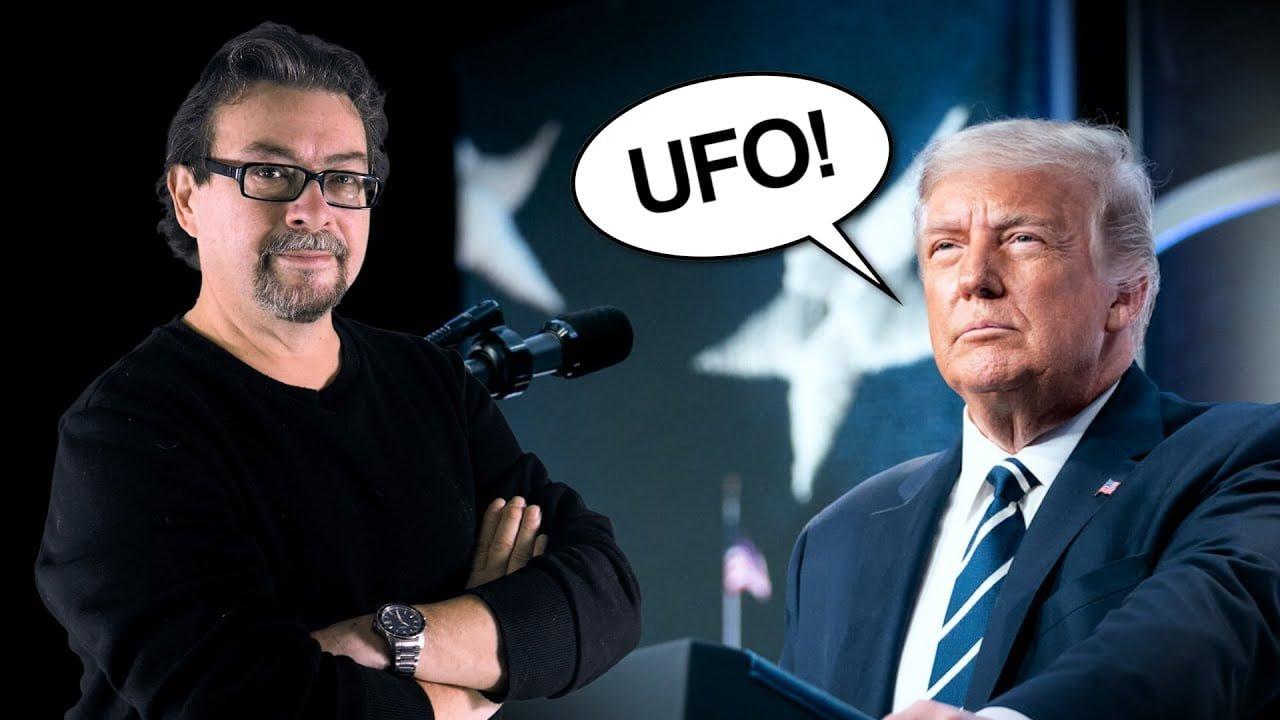 Donald Trump habla nuevamente de los OVNIs