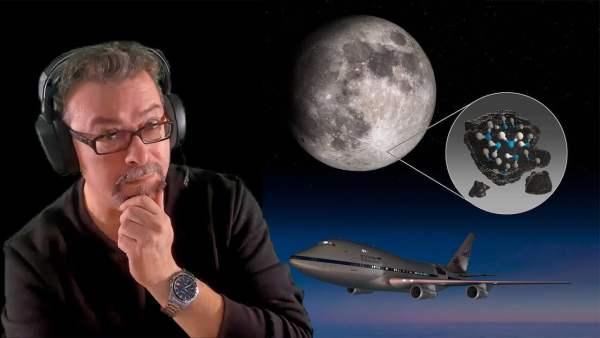 🌑🌓🌔 NASA Anuncia Que ha descubierto Agua en la Luna… Por Enésima Vez