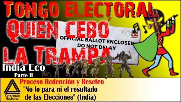 CÓMO Y PORQUÉ la Alianza planeó el CEBO del TONGO ELECTORAL: India Eco y Lima 2 / Tecnologia clones