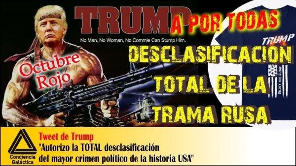 """Donald Trump saca la ARTILLERÍA: Comienza la caza del """"Octubre Rojo"""""""