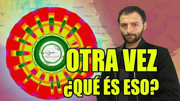 Enorme ANOMALÍA sobre México aparece en el RADAR OTRA VEZ
