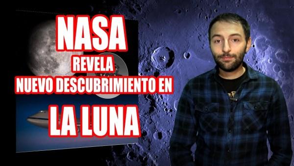 NASA Anuncia el SECRETO de la LUNA, Está repleta de agua