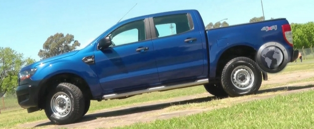 Ford Ranger Test