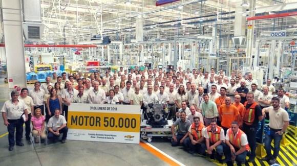 Motor 50 mil Chevrolet GM