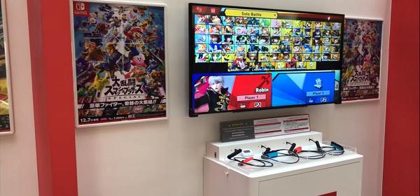 Mira esta increible área de Nintendo en Kansai