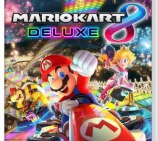 caratula mario kart 8 deluxe Nintendo Switch Mundo N