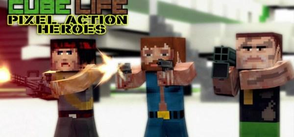 Cube Life Pixel Action Heroes Nintendo Wii U Mundo N