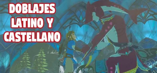 Zelda Breath of the Wild doblado en español latino y de España