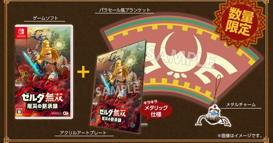 Hyrule Warriors: Age of Calamity Treasure Box