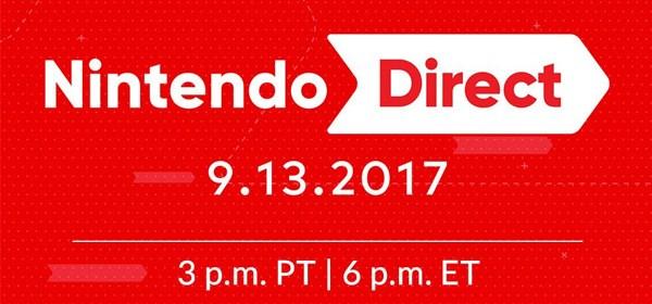 Nintendo Direct 13 de septiembre de 2017
