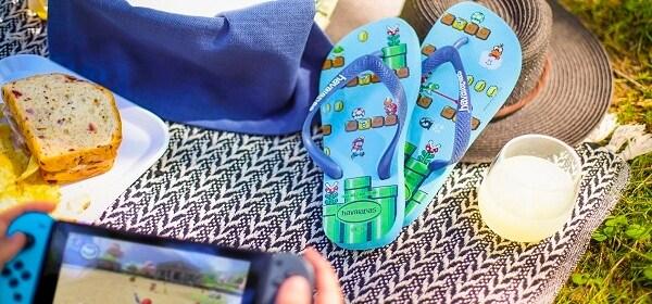 Sandalias Super Mario Bros.