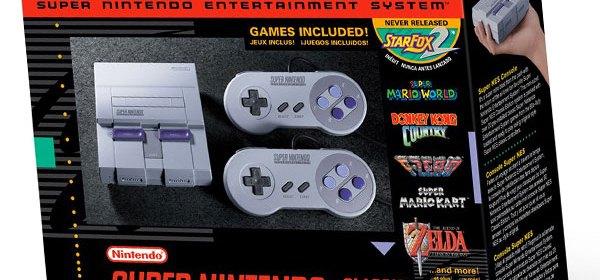 SNES Classic Edition, SNES Mini