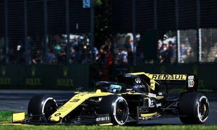 Ricciardo buca exprimir al máximo su Renault