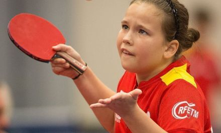 María Berzosa 9º en el ITTF World Hopes Challenge 2019