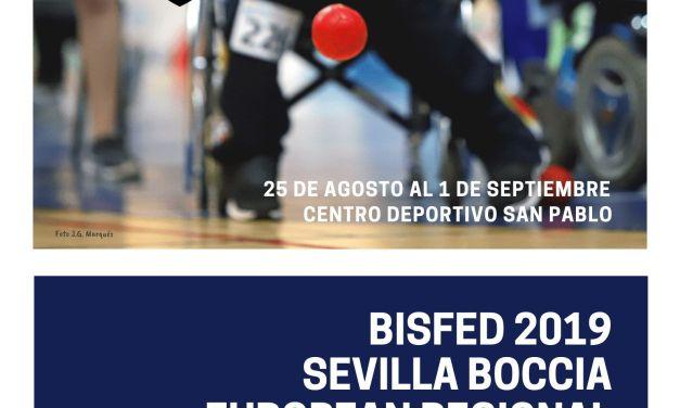 El Campeonato de Europa de Boccia se celebrará en Sevilla del 25 de agosto al 1 de septiembre próximos