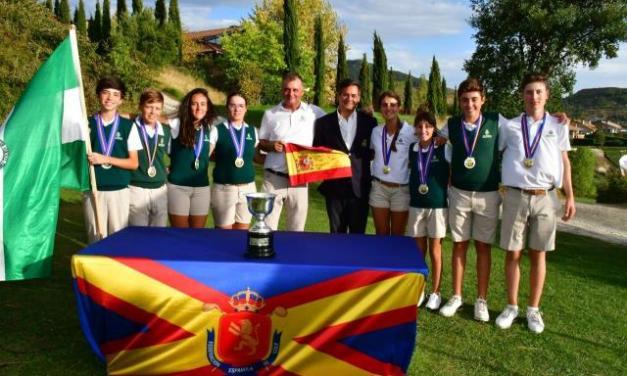 Andalucía supera a Canarias en una magnífica final del Campeonato de España de FFAA Infantil
