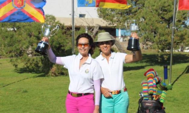 María de Orueta y Xonia Wünsch ganan el Internacional de España Dobles Senior cumpliendo con la tradición