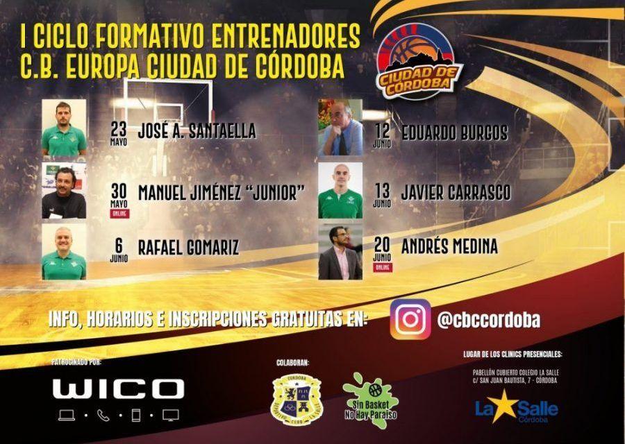 """C.B.E. Ciudad De Córdoba Organiza El """"I Ciclo Formativo Para Entrenadores"""""""