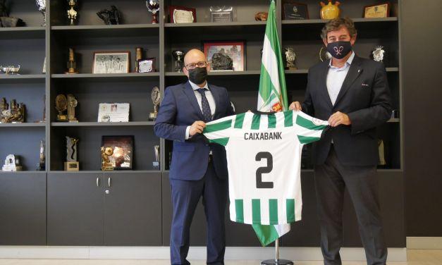 CaixaBank y El Córdoba CF firman un nuevo patrocinio