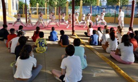 La Campaña Conoce el Kárate de Diputación de Córdoba vuelve a los centros escolares