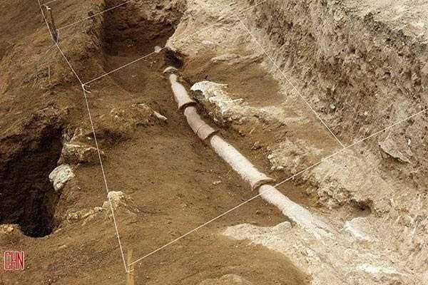 Irán: Descubren una tubería de 5.000 años de antigüedad