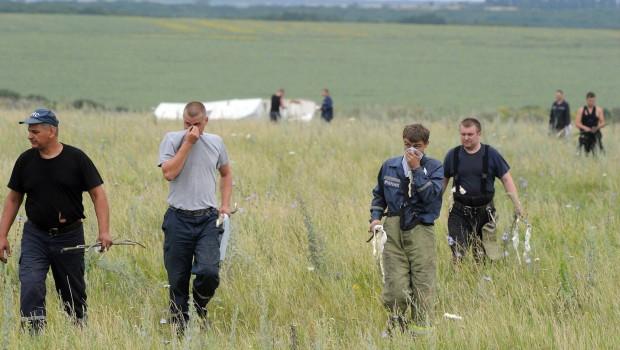 Revelan que los cadáveres del avión derribado