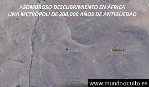 Ciudad en Africa de mas de 200.000 años