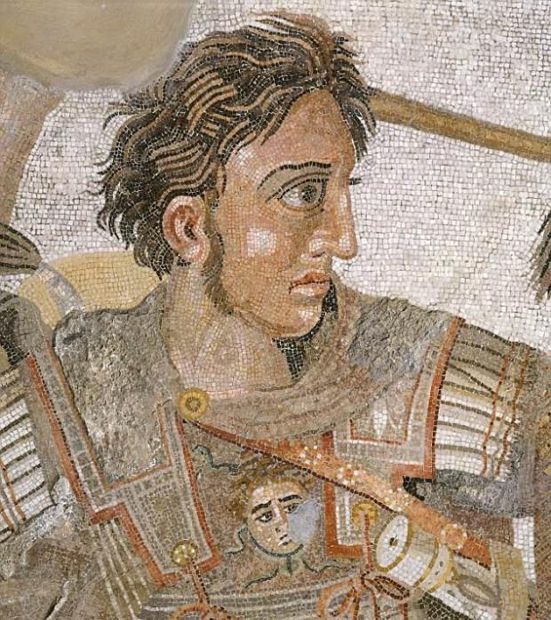 mosaico alexander e1416231606648 - El residente de la tumba de Anfípolis es un general macedonio