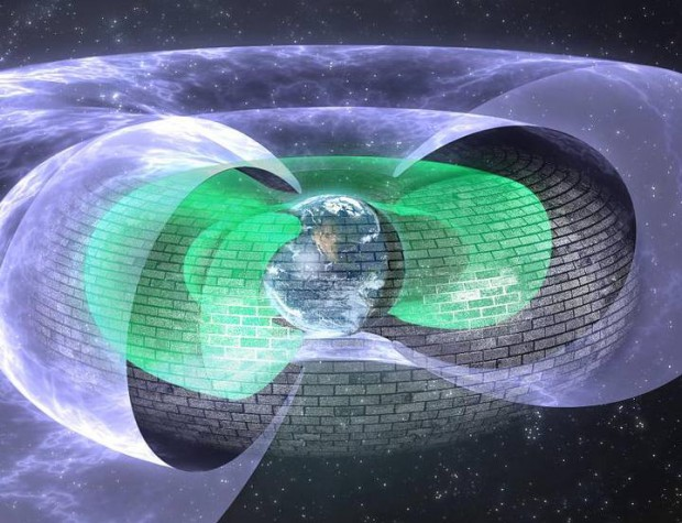 Un escudo como el de Star Trek nos protege de los electrones asesinos