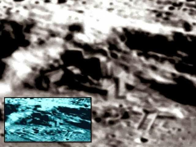 China libera fotografías de bases alienigenas en la luna