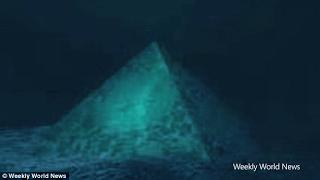 Hay Una Piramide De Cristal Debajo Del Triangulo De Las Bermudas? Teoricos De La Conspiracion Dicen Que Existe La Estructura - Y Que Podria Explicar Porque Los Aviones Se Pierden