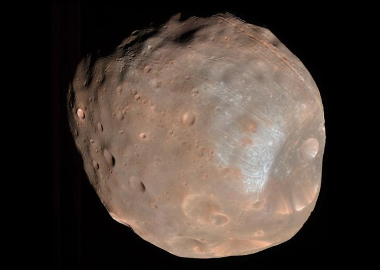 estructura alienigena el misterio del monolito hallado en uno de los satelites de marte 1 - ¿Estructura alienígena? El misterio del monolito hallado en uno de los satélites de Marte