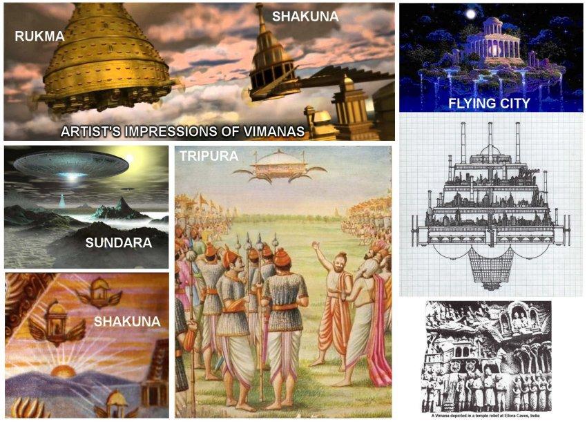 Naves que visitaron la tierra hace 6000 años