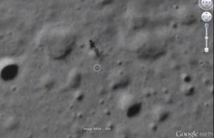 53e4e85032346 - Real EXTRATERRESTRE captado paseando por la LUNA en Google Earth