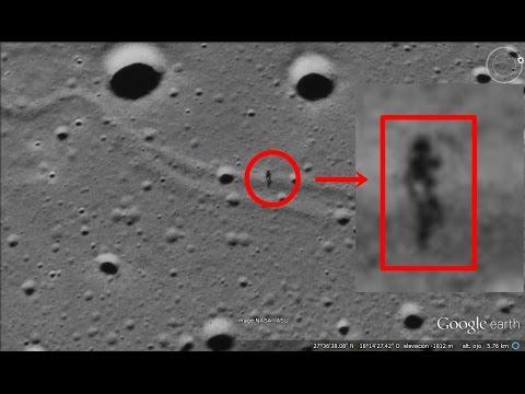 hqdefault - Real EXTRATERRESTRE captado paseando por la LUNA en Google Earth